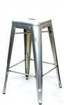Restaurant Furniture Industrial Silver Backless BS