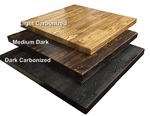 RUSTIC Distressed Wood Table TopsLIGHT/ DARK/DARKER