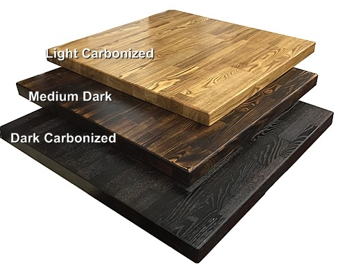 Restaurant Rustic Distressed Wood Table Tops