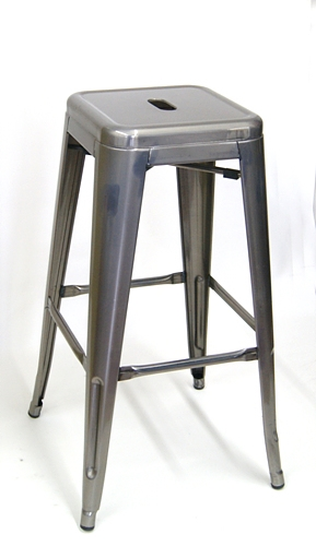 Admirable 02 7782 Pewter Grey Counter Stool Backless 30H Ocoug Best Dining Table And Chair Ideas Images Ocougorg