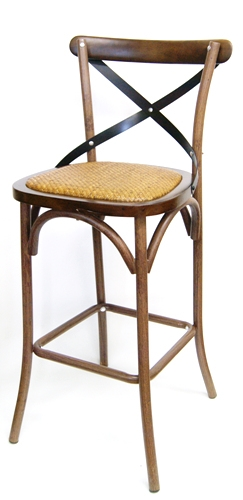 Distressed Bent Wood Grain Rustic Farm House Bar Stool  sc 1 st  Decor N More Wholesale Restaurant Furniture & Distressed Bent Wood Metal Grain Chairs Rustic Cafe Swiss Wrap ... islam-shia.org
