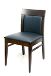 Restaurant Wood Upholstered Dining Chair