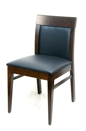 Restaurant Wood Upscale Upholstered Dining Chair