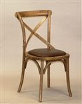 Cross Over Bent Wood Farm House Chair