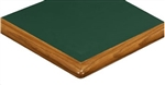 Wood Edge Laminate Tabletops-Bull Nose;  Decor-N-More