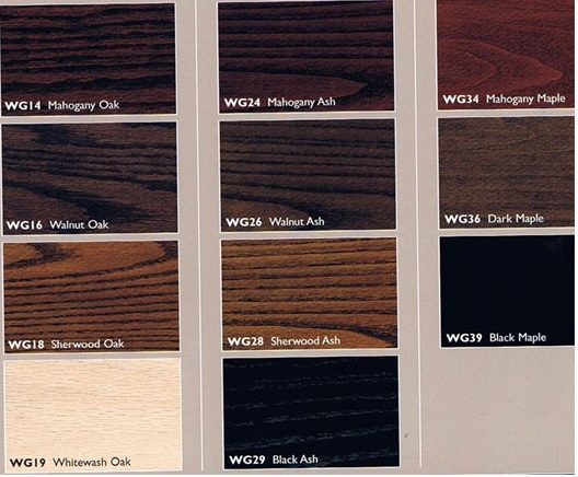 Custom Wood Stain Finishes