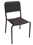 Rio Outdoor Cafe Bistro Stackable Chair