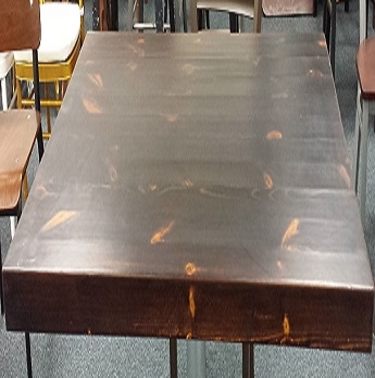 Rustic Distressed Pine Wood Restaurant Antique Tabletops Thick - Rustic wood restaurant table tops