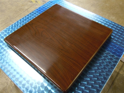 Restaurant Resin Walnut In Stock Tabletop Affordable Prices - Restaurant resin table tops