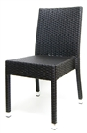 Outdoor Wicker Coffee Dining Chair