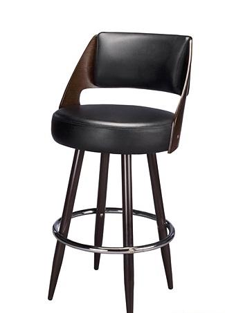 Upholstered Restaurant Metal Bar Stool