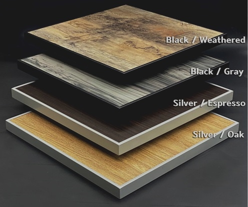 Outdoor High Pressure Laminate Rim: excellent buy!