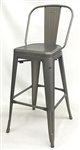 Raw Metal Industrial Bar Stool