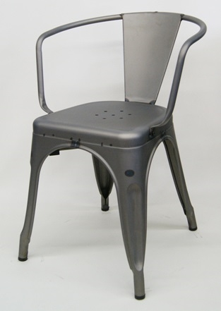 Raw Welding Metal Industrial ARM Chair