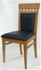 Ritz: Upscale Restaurant Wood Dining Chair