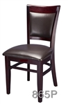 Upscale Restaurant Wood Dining Chair