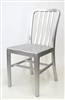 NAVY Brushed Aluminum Dining Chair