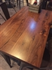 "Live Edge Black Walnut Plank Tabletop: 2"" THICK"