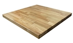 Natural stain,Butcher Block Oak, Restaurant Dining Tabletops