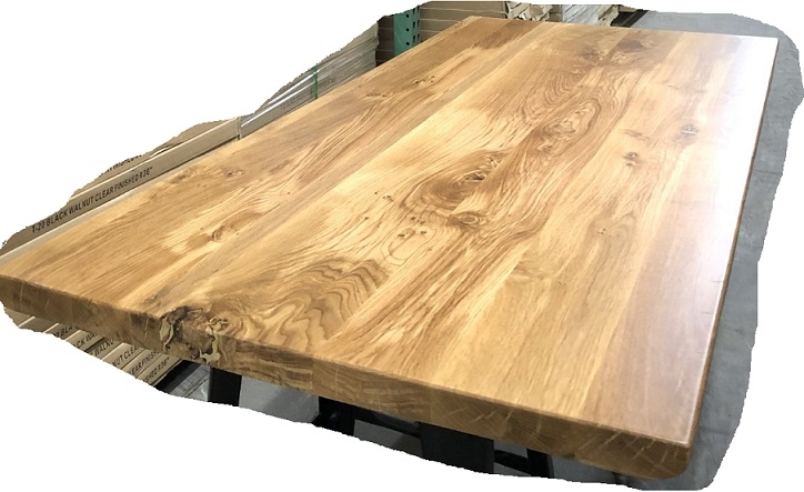 Live Edge Oak Farm House Plank