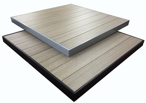 teak aluminum outdoor table tops rh decormorehospitality com outdoor table tops restaurant outdoor table tops melbourne