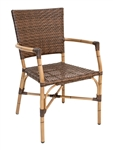 Outdoor Bistro Furniture: Bamboo Safari Weave