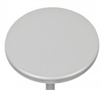 Silver Metal Outdoor Tabletops