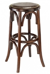 Rustic Bar Stool Counter Backless Farm House