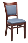 Restaurant seating,Upholstered Dining Chair,European Beech Wood Construction,Upholstered