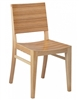 Zebra Stripe Beech Wood Side Chair