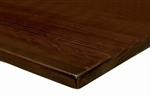 Wood Plank Beech Wood Restaurant Tabletops: In Stock
