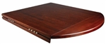 Drop Leaf Solid Wood Restaurant Tabletop; In Stock and Ready to Ship