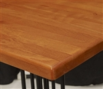 "Drop Leaf 36 x 36 opens to 51"" Round; Wood Table; In Stock and Ready to Ship"