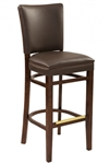 Upholstered Restaurant Dining Bar Stool
