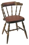 Colonial Mate Captain Upholstered Restaurant Chair