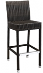 Outdoor Restaurant Wicker Bar Stool