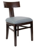 T Back Restaurant Wood Dining Chair