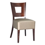 Box Square Back Restaurant Dining Chair