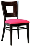 Square Back Restaurant Dining Chair