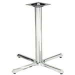 Chrome Tabletop Outdoor Base