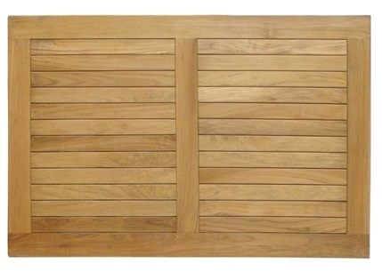 21 Teak Solid Wood Restaurant Plantation Table Top
