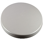 Cafe Outdoor Table Tops;  Brushed Silver