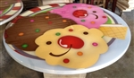 "Custom Epoxy Resin Tabletops for ""Give Kids The World"" theme park manufactured per our factory."