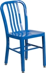 NAVY Aluminum Chair, powder coated, seat stretchers,foot glides, and  6 Colorful IN STOCK Colors