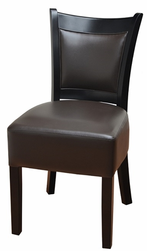 Modern Upholstered Wood Dining Chair
