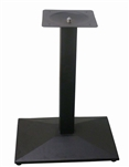 Table Base Square Black