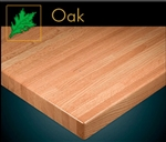 OAK Butcher Block: 1 3/4 Thick