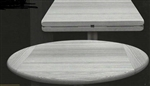 Drop Leaf Plank Restaurant Tabletops