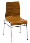 Bent Wood Restaurant Stacking Chair