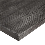 Rustic Grey Laminate Outdoor  Dining Table Tops